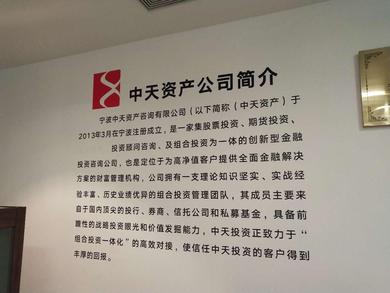 宁波中天诚投企业管理咨询有限公司